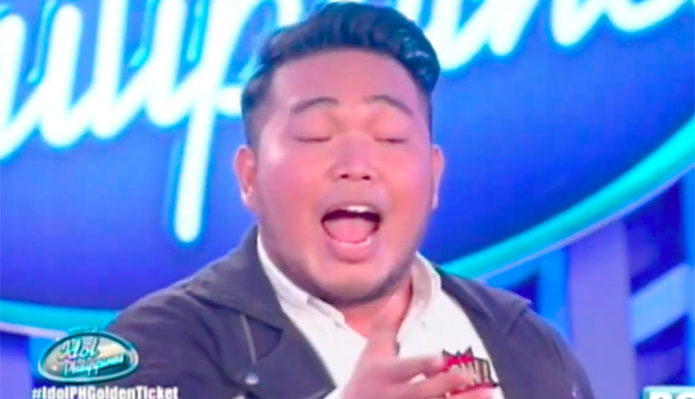 "Kevin Hermogenes sings ""When a Man Loves a Woman"" on Idol Philippines 2019 Auditions"