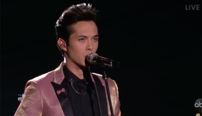 "Laine Hardy sings ""Home"" on American Idol 2019 Finale"