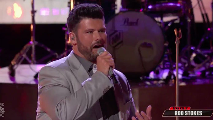 """Rod Stokes """"When a Man Loves a Woman"""" The Voice Top 13 Live Shows"""