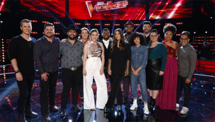 The Voice iTunes Charts & Rankings for Top 13 – The Voice 2019 Season 16