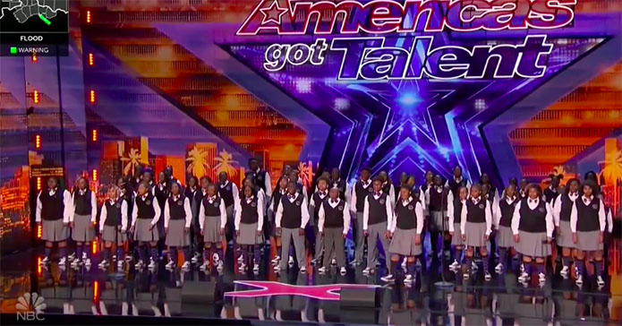 "Detroit Youth Choir ""Golden Buzzer"" America's Got Talent 2019 Audition Performance Video"
