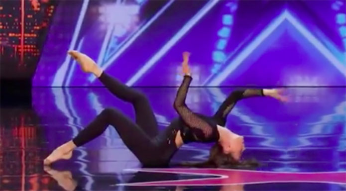 Marina Mazepa America's Got Talent 2019 Audition Performance Video