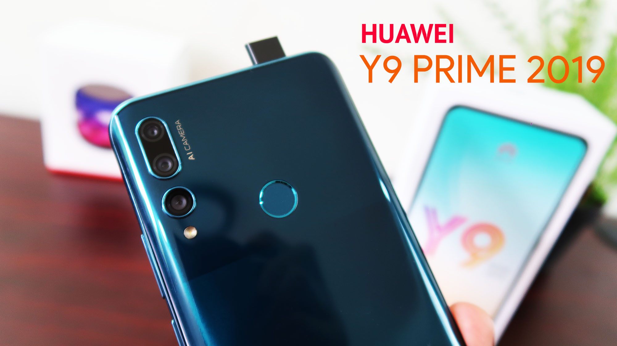 Huawei Y9 Prime 2019 Unboxing, Specs, Pop-up Camera Test, Price