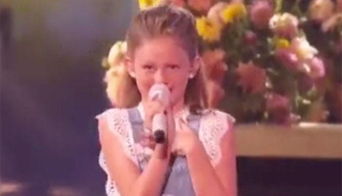 Ansley Burns America's Got Talent 2019 AGT Live Shows Performance