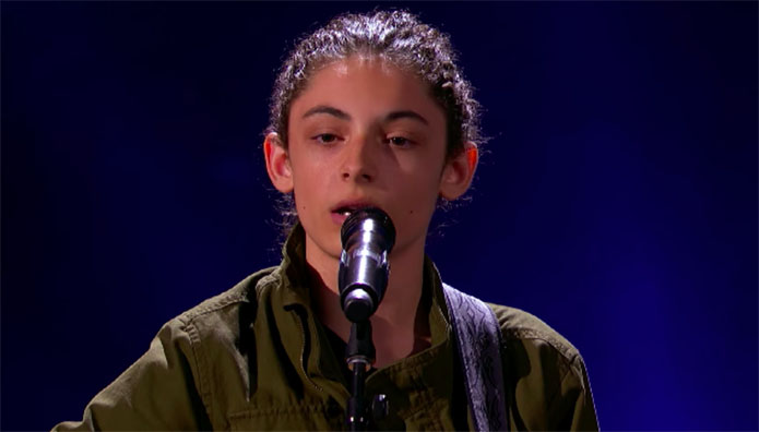 "Benicio Bryant sings Original Song ""Here Goes Nothing"" on America's Got Talent 2019"