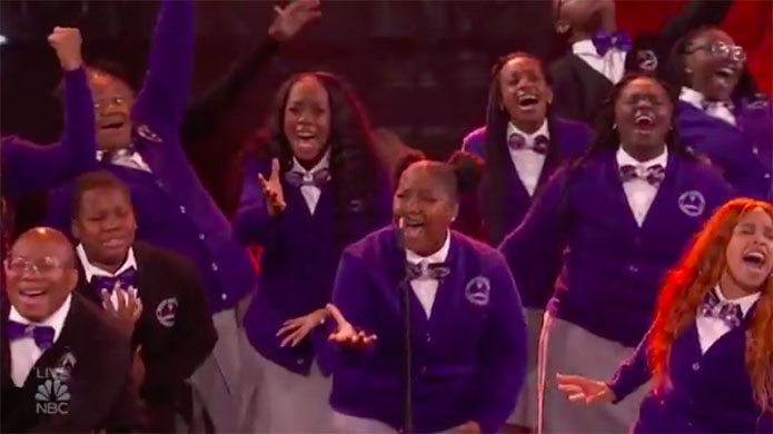 Detroit Youth Choir America's Got Talent 2019 AGT Live Shows Performance