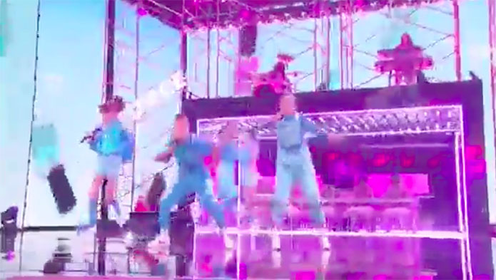 GFORCE America's Got Talent 2019 AGT Live Shows Performance