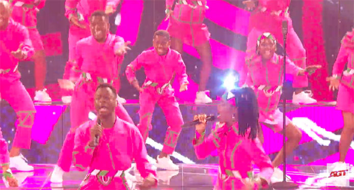 Ndlovu Youth Choir America's Got Talent 2019 AGT Live Shows Performance