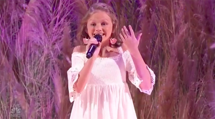 Ansley Burns America's Got Talent 2019 AGT Semifinals Performance