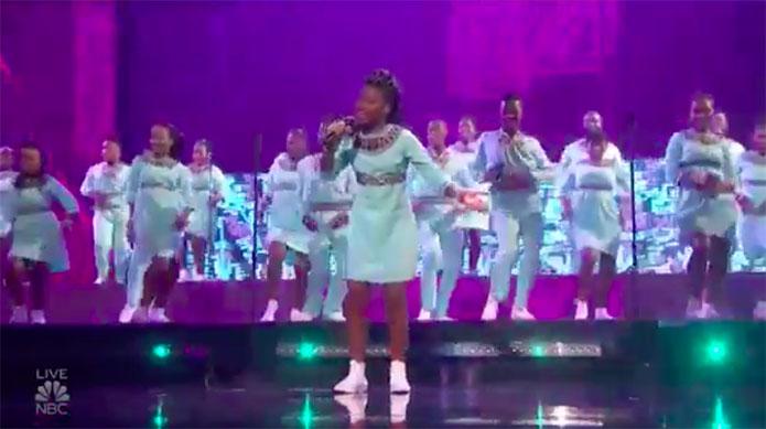 Ndlovu Youth Choir America's Got Talent 2019 AGT Semifinals Performance