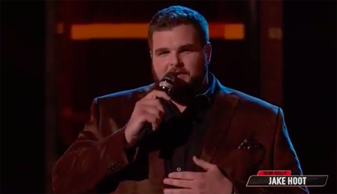 "Jake Hoot ""Danny's Song"" The Voice Top 13 Live Shows"