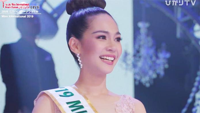 Miss Thailand Sireethorn Leearamwat Miss International 2019 Winner