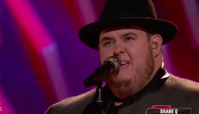 "Shane Q ""Mercy"" The Voice Top 11 Live Shows"