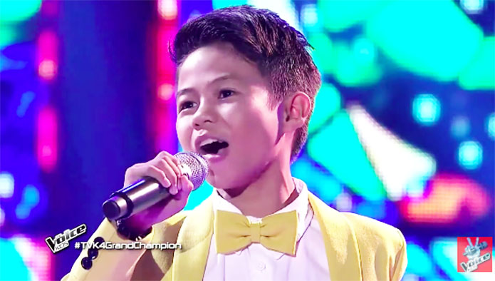 Vanjoss Bayaban The Voice Kids Philippines 2019 Season 4 Winner Champion