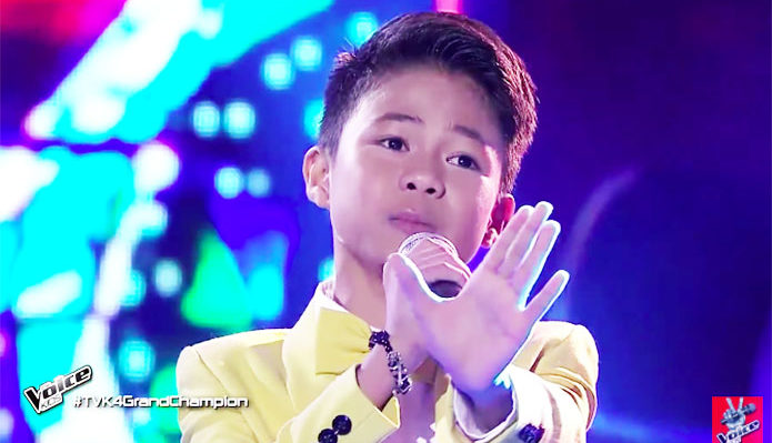 "Vanjoss Bayaban sings ""You Raise Me Up"" on The Voice Kids Philippines Finals"