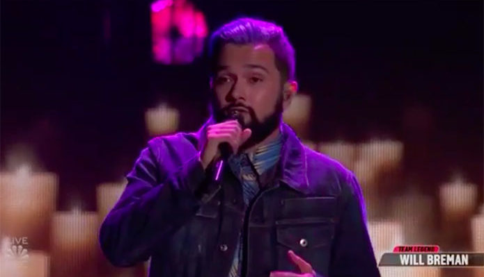 "Will Breman ""I Won't Give Up"" The Voice Top 13 Live Shows"