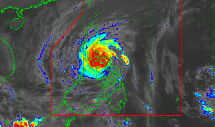 Bagyong Tisoy PAGASA Weather Forecast & Live Update – December 3, 2019