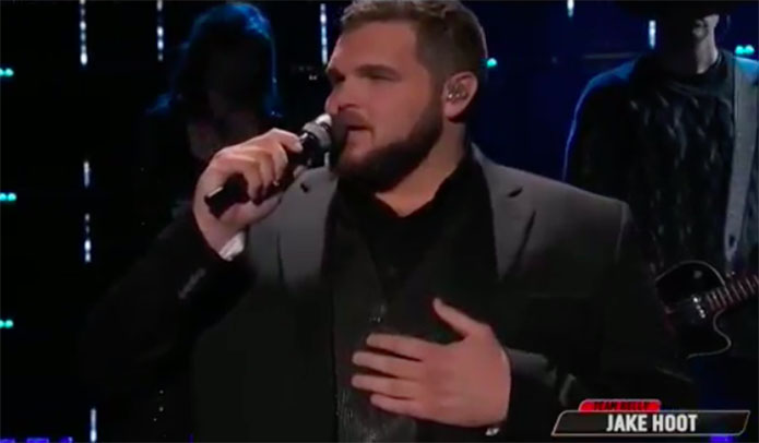 "Jake Hoot ""Amazed"" The Voice Top 4 Live Finale"