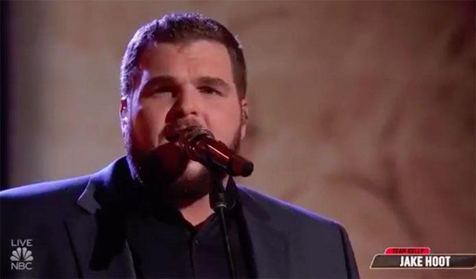 "Jake Hoot ""Desperado"" The Voice Top 8 Live Semifinals"