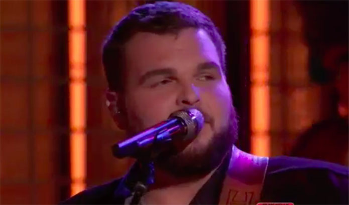 "Jake Hoot ""That Ain't My Truck"" The Voice Top 10 Live Shows"