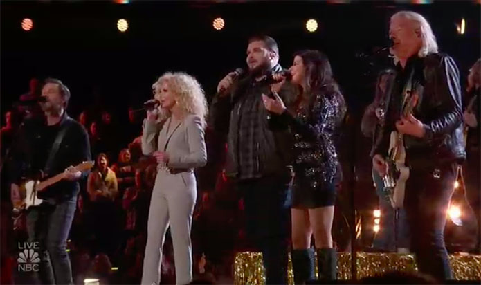 "Jake Hoot & Little Big Town ""Over Drinking"" The Voice 2019 Finale"