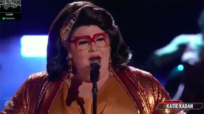 """Katie Kadan """"I Don't Want to Miss a Thing"""" The Voice Top 4 Live Finale"""