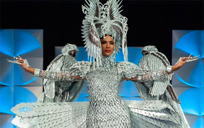 Miss Philippines Real Winner of National Costume at Miss Universe 2019