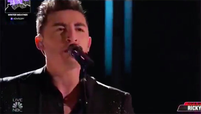 "Ricky Duran ""Runnin' Down a Dream"" The Voice Top 4 Live Finale"