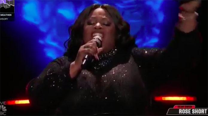 "Rose Short ""Steamroller"" The Voice Top 4 Live Finale"