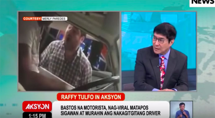 WATCH: Driver Seek Help from Raffy Tulfo vs Dr. Tomas Mendez