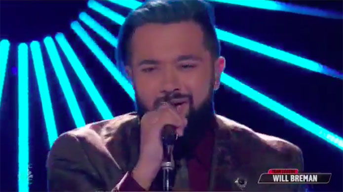 "Will Breman ""My Body"" The Voice Top 10 Live Shows"