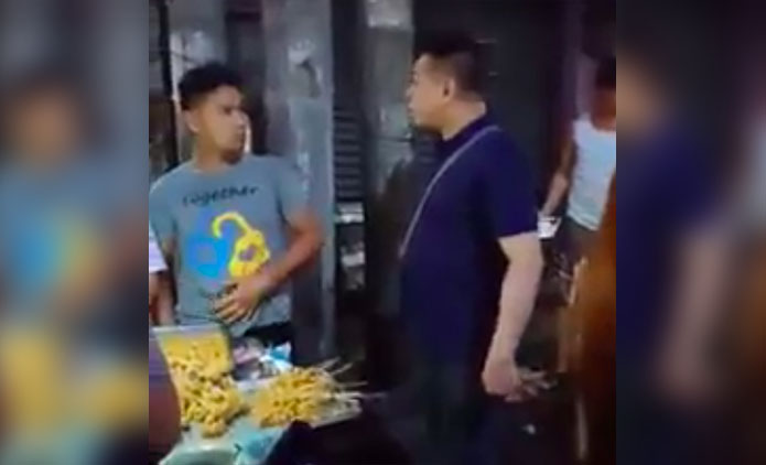 Rex Baltisoto Mayabang na Security Guard na Nagpanggap na Pulis Viral Video