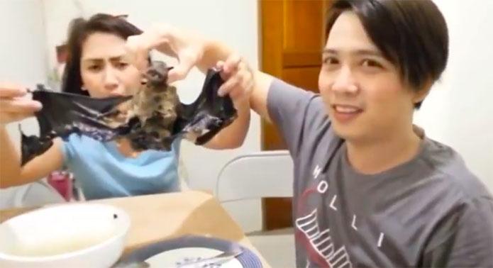 Two Pinoys Eating Bat Soup Angers Netizens, Urge to Undergo Corona Virus Test