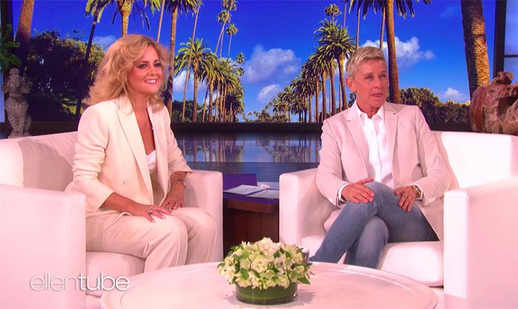 """Charlotte Awbery sings """"Shallow"""" on Ellen DeGeneres Show"""