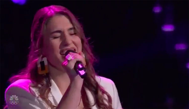 "Joanna Serenko sings ""All My Loving"" on The Voice Blind Auditions 2020"