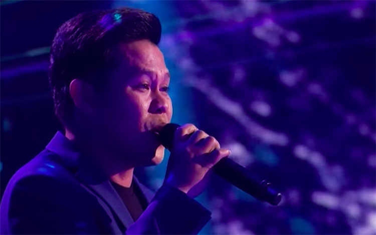 """LEAKED VIDEO: Marcelito Pomoy sings """"Beauty And The Beast"""" on America's Got Talent Champions Finals"""