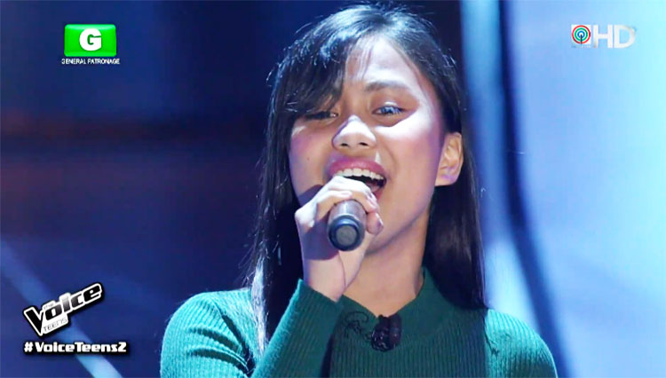 """Pia Banga sings """"The Power of Love"""" on The Voice Teens Philippines Auditions"""