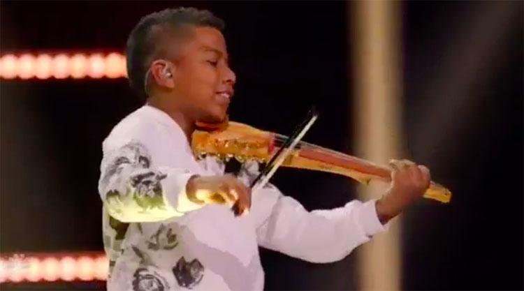 """Tyler Butler-Figueroa """"Hallelujah"""" America's Got Talent Champions Finals"""