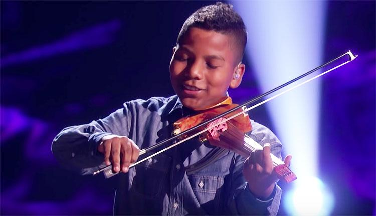 "Tyler Butler-Figueroa ""What A Wonderful World"" America's Got Talent Champions Semifinals"