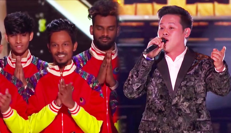 V.Unbeatable Winner, Marcelito Pomoy 4th Place on America's Got Talent The Champions