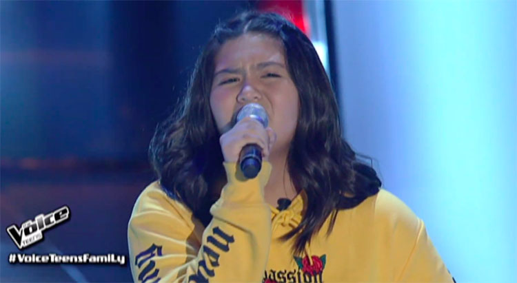 "Alliah Maratas sings ""Tagpuan"" on The Voice Teens Philippines 2020 Audition"