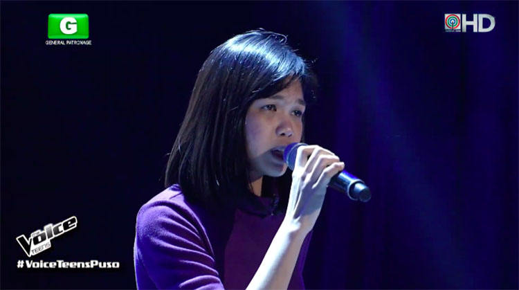 "Cee-Jay Castillo sings ""Don't You Remember"" on The Voice Teens Philippines 2020 Audition"