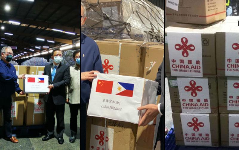 China Nagpadala ng 100K COVID-19 Test Kits at Masks sa Pilipinas