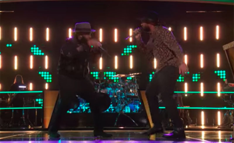 """Darious Lyles vs Nelson Cade III """"Come Together"""" The Voice Battles 2020"""