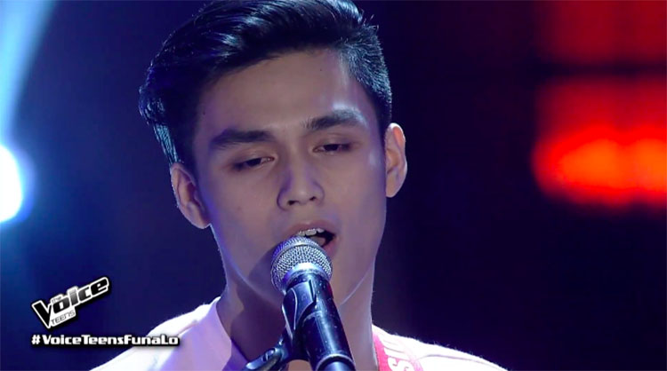 "Drei Sugay sings ""Maybe The Night"" on The Voice Teens Philippines 2020 Audition"