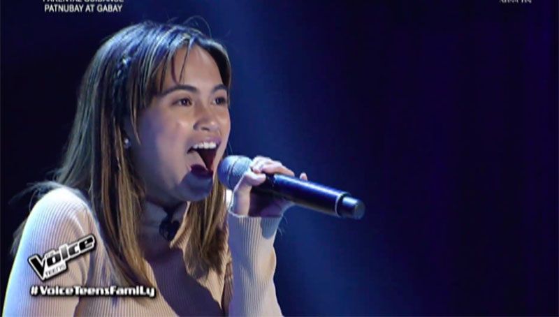 "Ella Mayor sings ""Don't Rain On My Parade"" on The Voice Teens Philippines 2020 Audition"