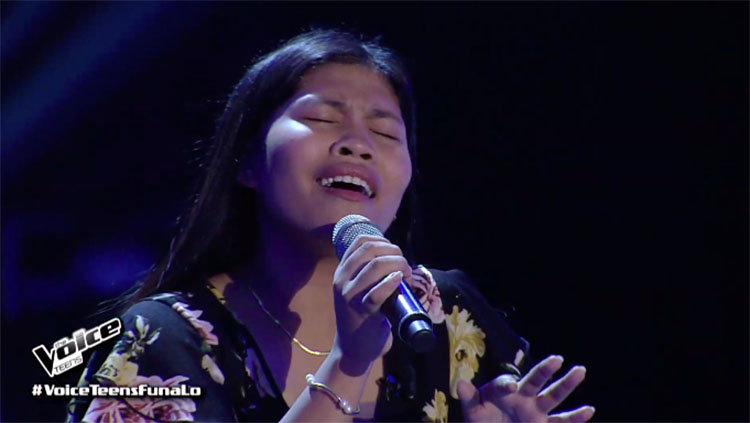 "Eunice Encarnada sings ""Feeling Good"" on The Voice Teens Philippines 2020 Audition"