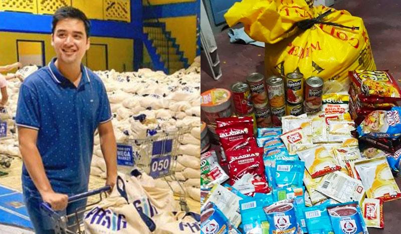 Ganito ang Laman ng P2500 na Relief Goods ni Mayor Vico Sotto
