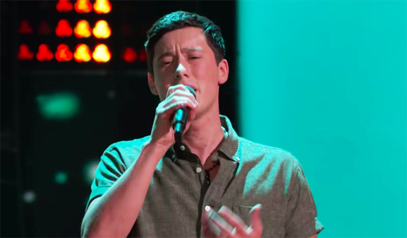 "Micah Iverson sings ""All I Want"" on The Voice Blind Auditions 2020"