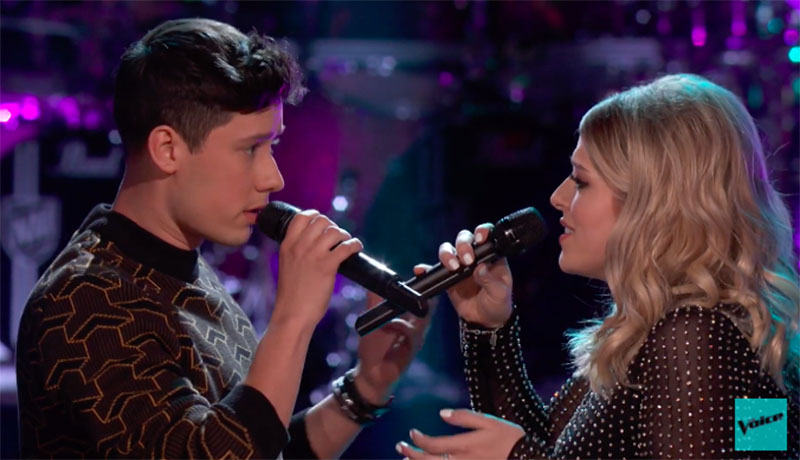 "Micah Iverson vs Gigi Hess ""Someone You Loved"" The Voice Battles 2020"